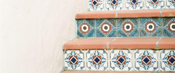 carrelage escalier carreaux ciment