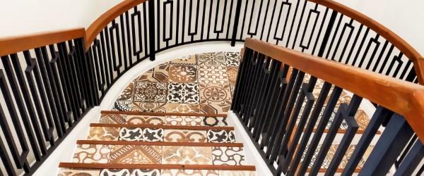 carrelage escalier carreaux