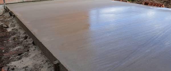 chape sur dalle beton