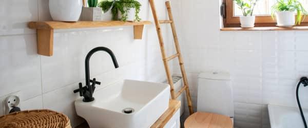 Taille de carrelage pour une petite salle de bain